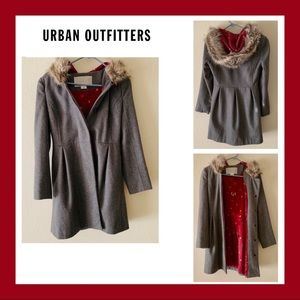 Urban Outfitters Cooperative Lady Day Wool Coat